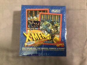 Marvel X-Men Series 2 Trading Cards Sealed Unopened Box SkyBox 1993