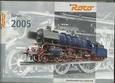 Katalog Roco Neuheiten 2005 Modellbahnen in HO 1;87