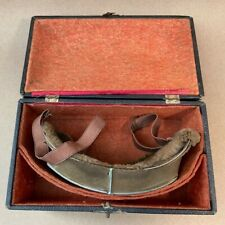 Rayonnante Balloon Jumper Driving French Goggles WW1 w/Box One-Lens Fur-Lined