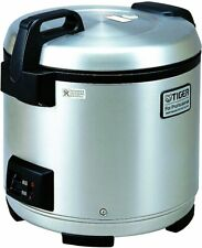 Tiger Jno A36u Xb 20 Cup Uncooked Commercial Rice Cooker And Warmer Stainless