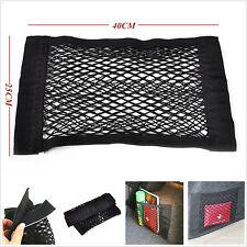 Multifunction Auto SUV Rear Trunk Storage Cargo Nylon Elastic Net Bag Magic Tape