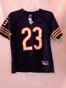 Reebok Women's NFL Jersey Bears Devin Hester Navy sz XL