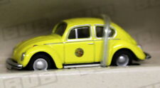 BUB 1/87 Tiny Scale - 09500 VW Kafer Beetle 1302 Yellow Diecast Model car