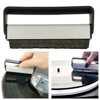 1pc Durable Carbon Fiber Vinyl Record Cleaner Anti Static Hot Bristle Sale V5U5