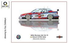Coffee Mug 1996 DTM Alfa Romeo 155 V6 Ti #6 Alessandro Nannini by Guy Golsteyn