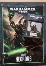 Warhammer 40k 8th edition necron codex and Cards