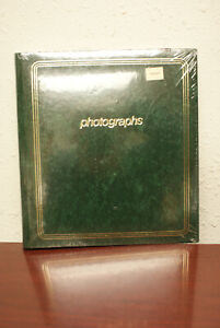 Springfield 40 Page Photo Album 3 ring binder with clear vinyl covering-USA-New!