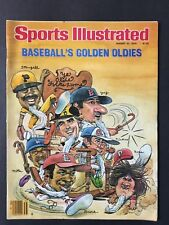 Sports Illustrated Magazine August 27 1979 Baseball's Golden Oldies NM NL