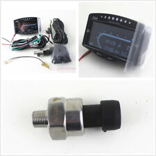 Car 12V/24V LCD Digital Oil Pressure/Voltmeter/Water Temp/Fuel Gauge Tachometer