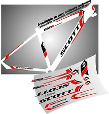 SCOTT aspect ADESIVI stickers aufkleber autocollant WELCOME international buyers