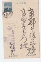 Japan Osaka 1919  postal stationary stamps card R21264
