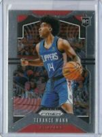 2019-20 Terance Mann Panini Prizm RC #296 Rookie Card LA Clippers 2020