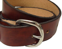 """Handmade Men Leather Belt 1 1/4"""" Wide 