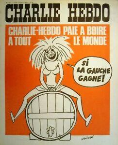 Charlie Hebdo N° 121.