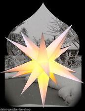 Stella di avvento Pieghevole star ø100 Star all'aperto Outdoor 15 zack