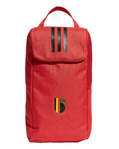 Belgio Belgium Belgique Adidas Borsa Porta Scarpe Shoebag Schuhtasche tg Rosso