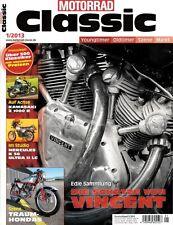 MC1301 + KAWASAKI Z 1000 R + TRIUMPH Trident T160 + MOTORRAD CLASSIC 1/2013