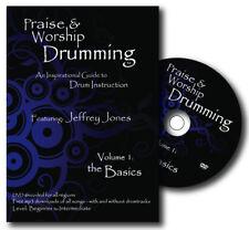 PRAISE & WORSHIP DRUMMING - VOLUME 1: THE BASICS - DRUM INSTRUCTION DVD