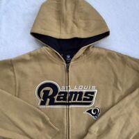 X-Large St Louis Rams Touchback II FZ Fleece