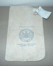 1953 PENN STATE PENNSYLVANIA AGRICULTURAL EXPER. STATION SEED BAG MONTGOMERY, PA