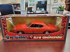 1969+Pontiac+GTO+Judge+Orange+1%3A18+Motor+Max+Motorworks+DieCast+NOS
