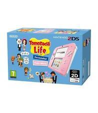 Videoconsola Nintendo 2DS Rosa Tomodachi
