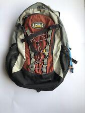 CamelBak Rim Runner Hydration Backpack Grey / Red Hiking Camping W/ Bladder