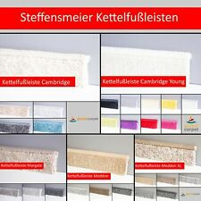 Steffensmeier Teppichboden Zubehör Kettelfußleiste Polypropylen