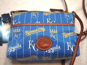 Dooney & Bourke Kansas City Royals Ginger Crossbody Purse NWT $148