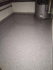 Bodenbeschichtung, Bodenfarbe ,Beschichtung 2K Bodenversiegelung ca. 5M² Ral7001