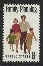 US Scott #1455, Single 1972 Family Planning 8c FVF MNH