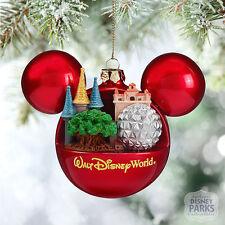 Disney Parks Walt Disney World Mickey Mouse Icon Ball Ornament