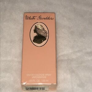 White Shoulders Perfume for Women 4.5 oz Eau de Cologne Spray NEW IN SEALED BOX