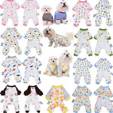 Pet Dog Clothes Cotton Warm Puppy Cat Hoodie Jumpsuit Pajamas Coat Pet Apparel