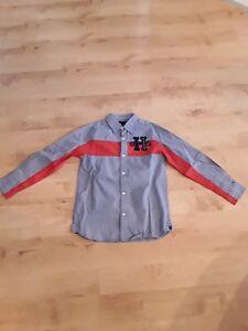 Neu, Tommy Hilfiger, Hemd, Jungen, 134, Shirt, langarm, longsleeve, Gr.M, 8-10