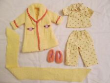 "Tonner Mary Engelbreit Ann Estelle 10"" Doll Outfit Bedtime Pajamas Slippers Robe"