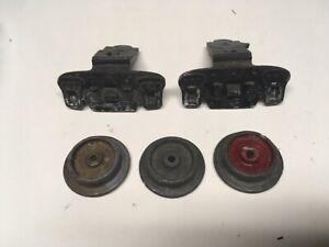 Dorfan Standard Wide 0 Gauge Trucks Wheels