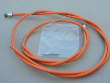 Raleigh Burner Type Orange Brake Cables Front & Rear Pair Old School BMX