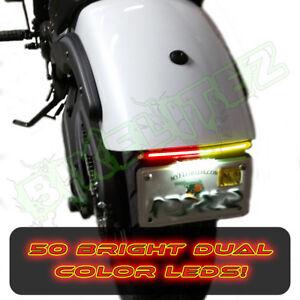 2015-2020 KAWASAKI 650 VULCAN S Fender Eliminator Light Bar W LED Tag Light