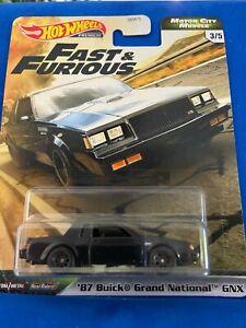 Hot Wheels Premium - Fast & Furious Buick Grand National GNX