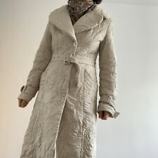 Women's insulated embroidered vintage coat - UK size 10