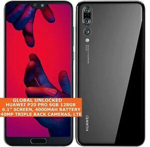 """HUAWEI P20 PRO CLT-L09/L29 6gb 128gb Octa-core 6.1"""" Fingerprint Android 10 NFC"""