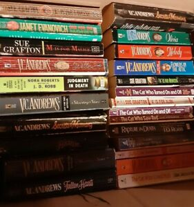 Janet Evanovich Sue Grafton V.C. Andrews $2Per Paperback vol discount Choice Lot