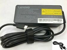 65W Original Lenovo ThinkPad T580 T480 T480S USB Type-C AC Adapter Power Charger