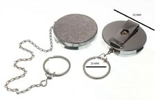 Recoil Spring Retractable Key Ring Cp 450mm Chain + Belt Clip Pack Of 20