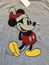 Disney's Mickey Mouse Holiday T-Shirt Size Large New With Tags Christmas