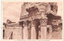 Lebanon Old Postcard Middle East Bacchus Temple , Baalbek