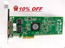 Doble puerto adaptador de servidor GIGABIT PCI-E HP NC382T 458491-001 Largo de altura completa