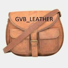 Messenger Shoulder Bag Cross Body Handmade Purse New Women Vintage Basic Leather