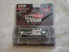 Maisto 2008 Toy Fair All Stars Outlaws '29 Ford Model A White Limited Edition